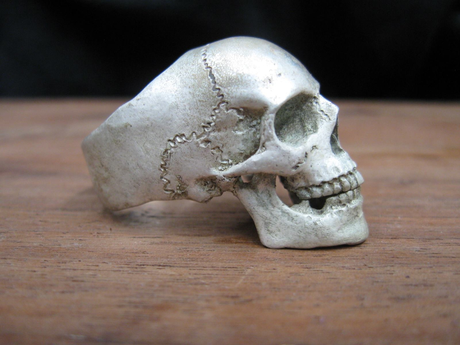 Skull Rings Made in the USA
